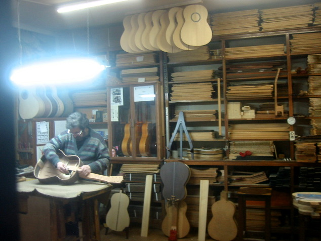 Madrid luthier shop for Luthier madrid